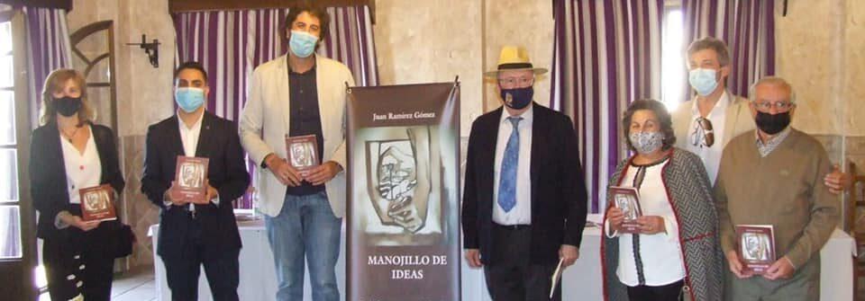 """Presentación del libro póstumo """"Manojillo de ideas"""" de Juan Ramírez."""