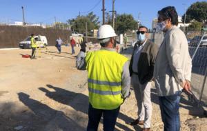 PFEA en San José del Valle: termina la obra de la oficina de turismo y avanza la urbanización de Parada Alta